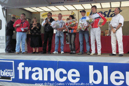 Paul makes the podium in France - 3rd place overall in the Trophee D'Oisans.