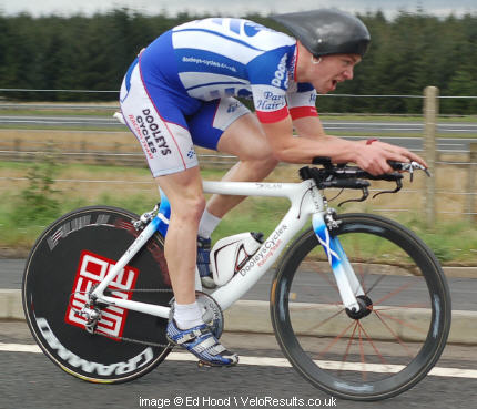 Michael has been the Scottish 50 mile TT champion.