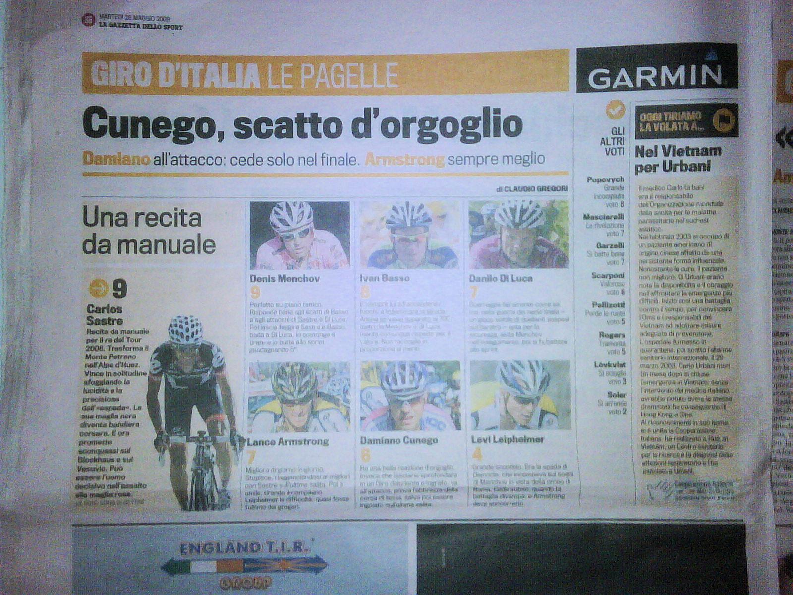 Giro d'Italia 2009