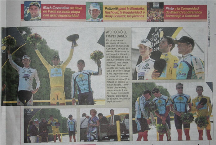 Le Tour de France 2009