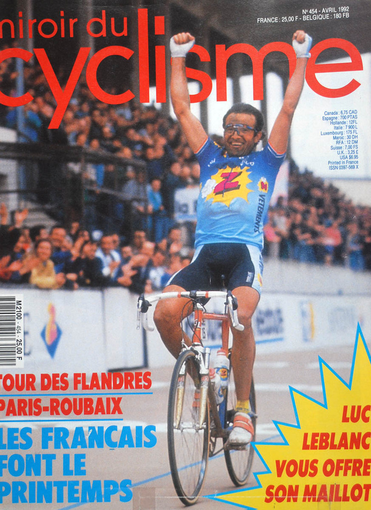 Duclos Lassalle wa a big winner in his won right, he and Greg Lemond weren't really close, yet then he had to, Duclos worked selflessly for Greg.