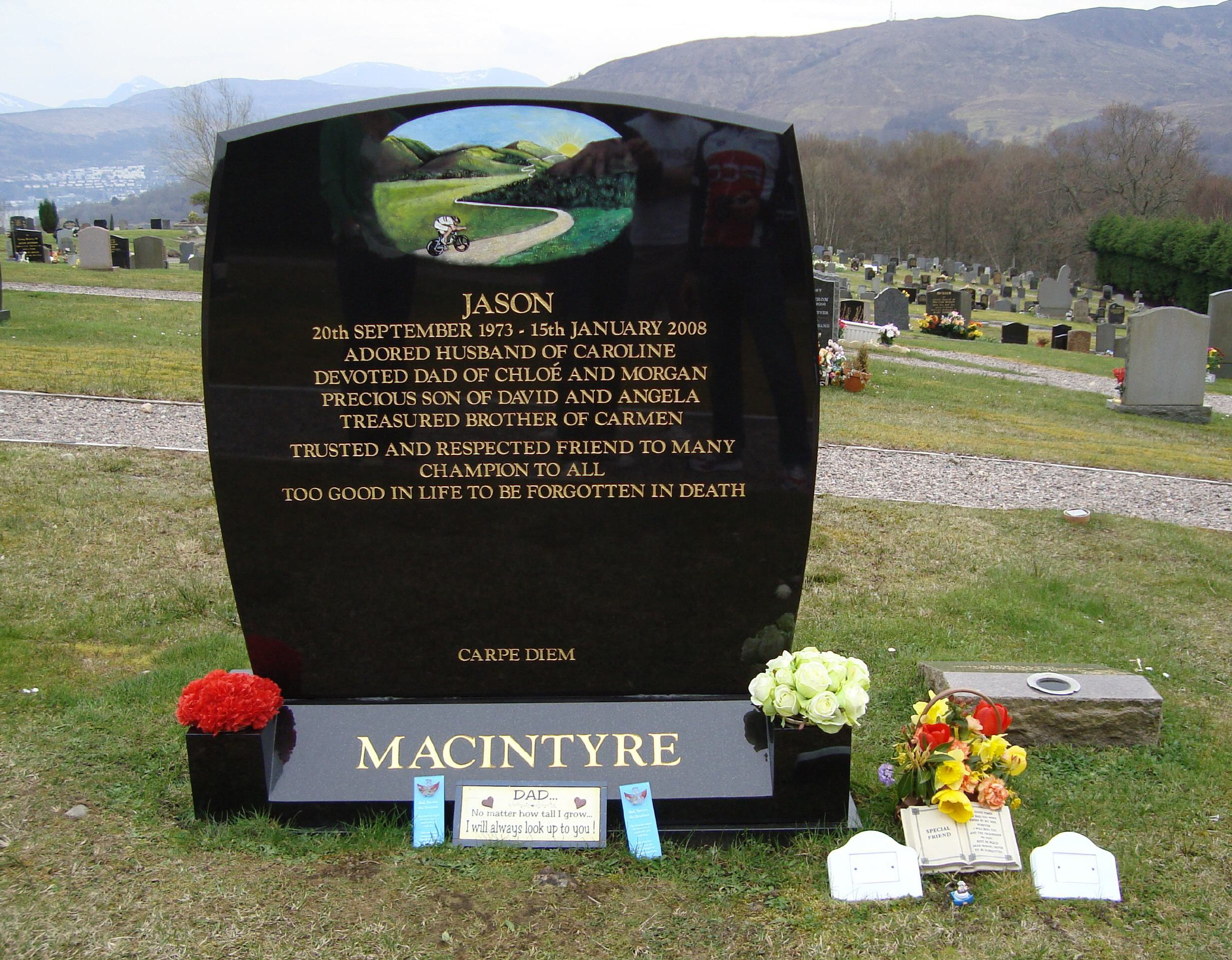Memories of Jason MacIntyre