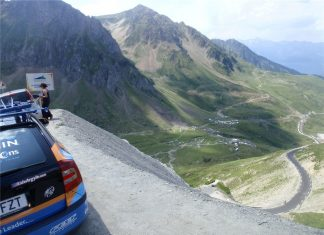 Second climb of the Tourmalet.