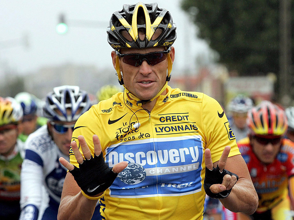 Armstrong wins number seven, and feels sorry for those people who don't believe in miracles.