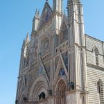 The Duomo - the glorious layer cake of a cathedral outside which was located the signing on.