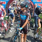 A man who's surprising in his first Grand Tour is Sky youngster Peter Kennaugh.
