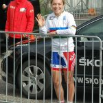 Lucy was out spectating today wearing her new jersey, and so would you!