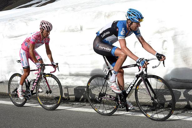 De Gendt on the Passo dello Stelvio