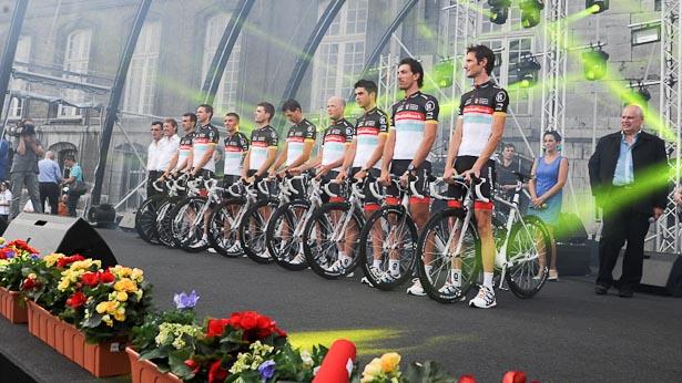 Le Tour de France starts