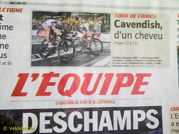 Le Tour de France 2012 - Stage 5