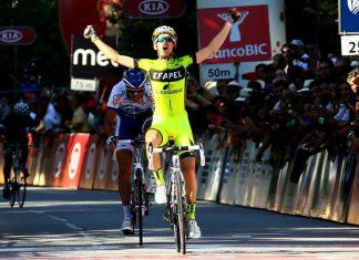 Volta a Portugal Stage 3 winner, César Fonte.