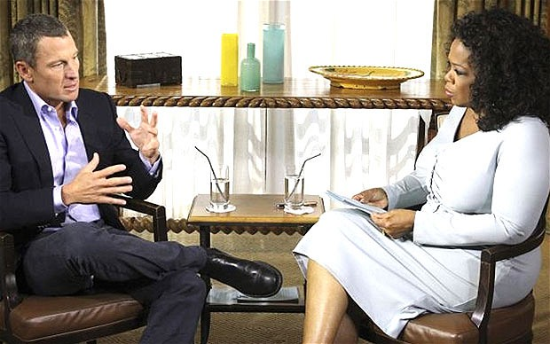 Lance Armstrong on Oprah