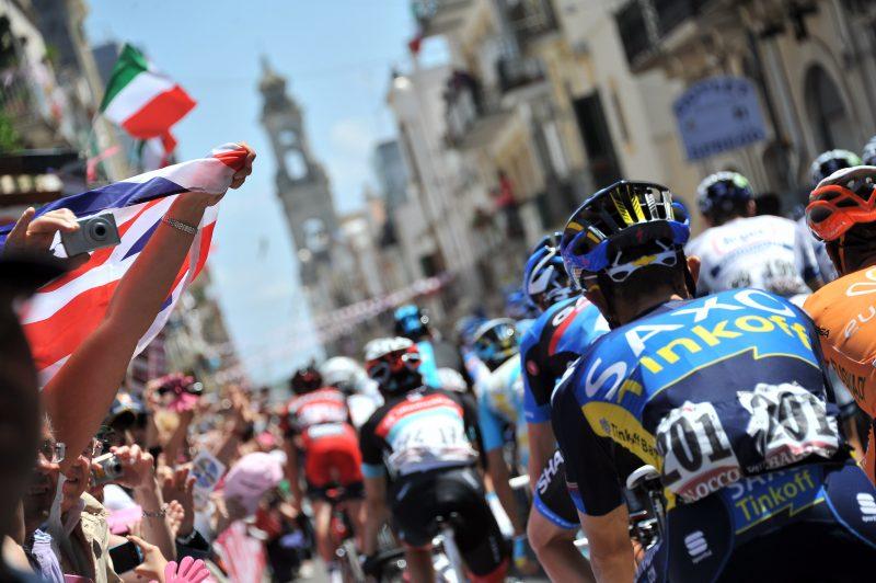 Italy is in thrall of the Giro each year. PhotoGian Mattia D'Alberto