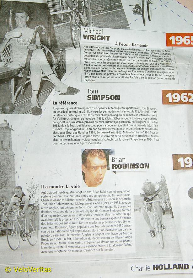 Wiggins' Tour de France