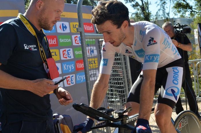 Adam Yates is riding an amazing race. Photo©ASO/G.Demouveaux