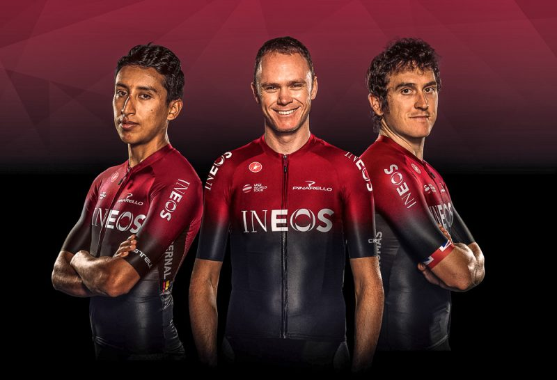 Team Ineos Launch